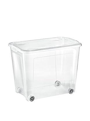 Tontarelli Caja Contenedor x 4 Con Ruedas