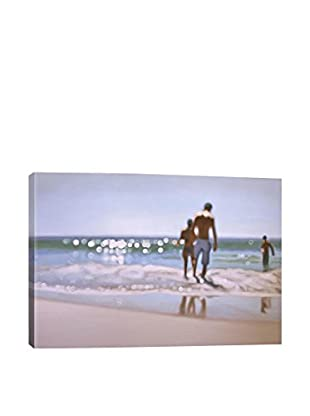 Philip Barlow Gallery Sea of Glass Wrapped Canvas Print