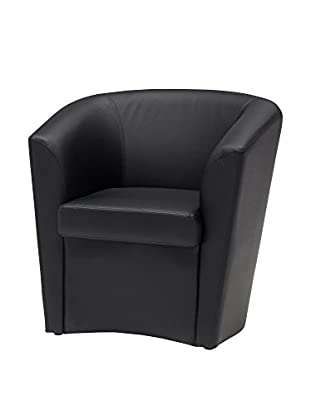 Modern Loft Sessel Sara A1 schwarz