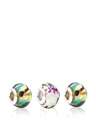 Valentina Beads by Gli Ori di Venezia Charm-Set Valentina mehrfarbig