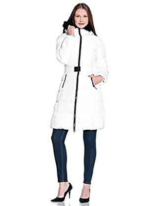ADD Plumas Largo Down  Hooded Coat Detachable Fur Border