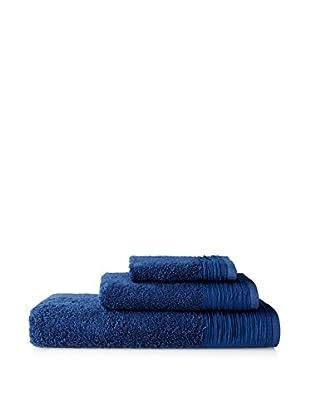 Nine Space Soft Balance 3-Piece Towel Set, Marine Blue
