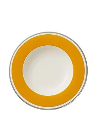 Villeroy & Boch Anmut My Colour Rim Soup, Orange/White