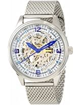Akribos Automatic Skeleton Dial Stainless Steel Mens Watch Ak446Ss