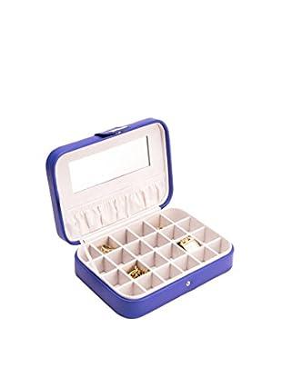 Bey-Berk Jewelry Case, Blue