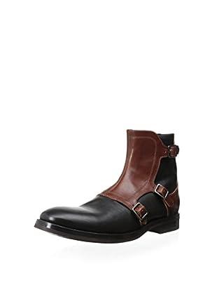 Alexander McQueen Men's Boot with Overlay