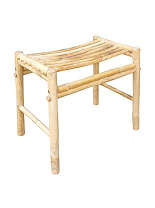 ZEW, Inc. Bamboo Stool, Natural