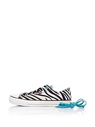 Skechers Zapatillas Glimmer - Animals (Blanco / Negro)