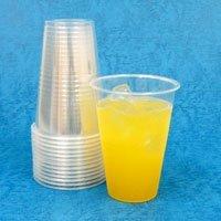 【クリックで詳細表示】プラスチックカップ500ml (透明) 1000個: ヘルス&ビューティー