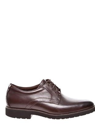 Rockport Zapatos Plaintoe (Chocolate)