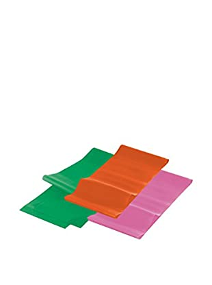 GYMLINE Trainingsband 3x gelb/lila/grün