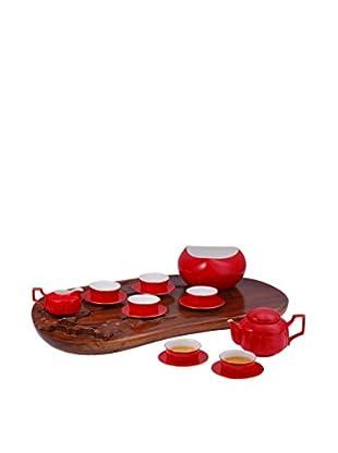 Auratic Ya Tea Set, Red