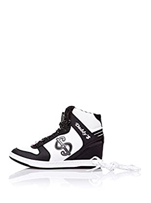 Skechers Botas Moolah (Negro / Blanco)