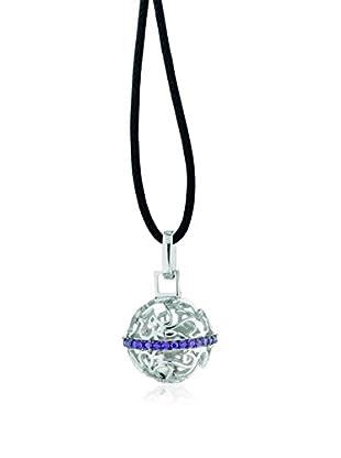 ROBERTO GIANNOTTI Set Halskette und Anhänger Chiama Angeli lila