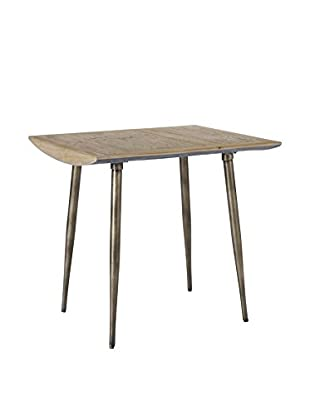 Homeware Cassidy Wormy Pine Accent Table