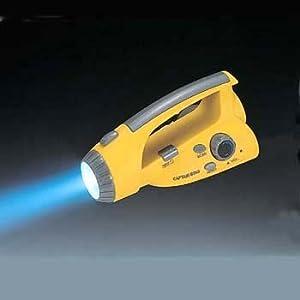 キャプテンスタッグ アヴェール LEDラジオ付 パワーライト M-1371