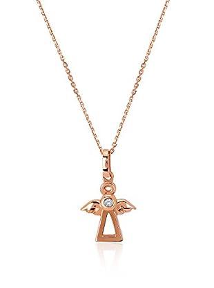 Divas Diamond Collar Diamond Gold Angel Dorado / Rosa