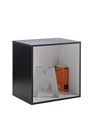 Office Ideas Bücherregal schwarz/weiß