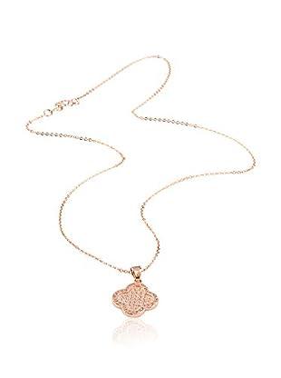 CHAMAY Conjunto de cadena y colgante Roze gold toned