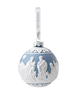 Wedgwood Three Wise Men Ornament, Blue