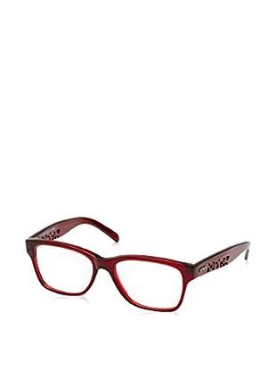 Fendi Montura 885 (51 mm) Rojo Oscuro