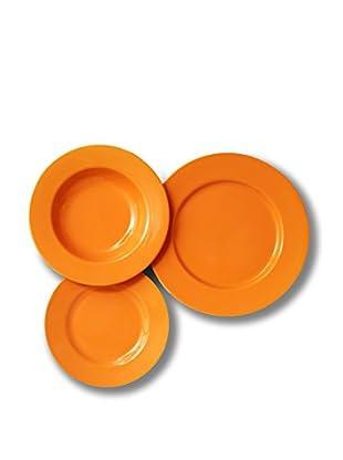 Servizio Tavola Trendy Ala 18 Pezzi arancione