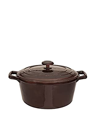 BergHOFF Neo 7.3-Qt. Cast Iron Round Covered Dutch Oven, Brown