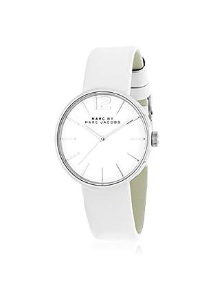 Marc by Marc Jacobs Women's MBM1367 Analog Display Analog Quartz White Watch