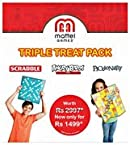 Mattel Triple Treat Pack Board Games - T1978