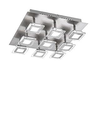 WOFI Deckenlampe LED Cholet grau