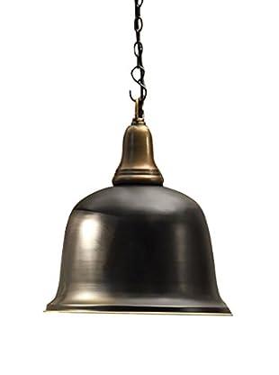 Iron & Aluminum 2-Tone Hanging Pendant Lamp, Grey