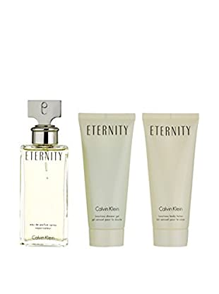 CALVIN KLEIN Damen Eau de Parfum 3 tlg. Set Eternity