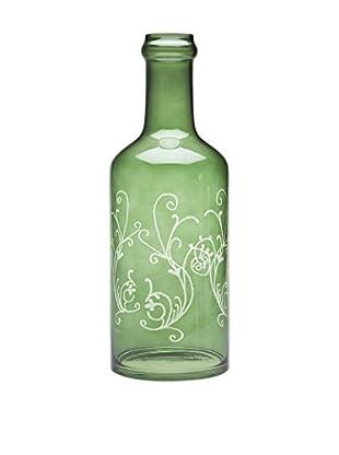Godinger Scroll Wine Bottle, Non Leaded Crystal