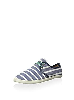 Soludos Women's Classic Stripe Lace Up Sneaker