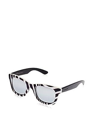 ITALIA INDEPENDENT Sonnenbrille 0090V-ZEB-50 (50 mm) schwarz/weiß