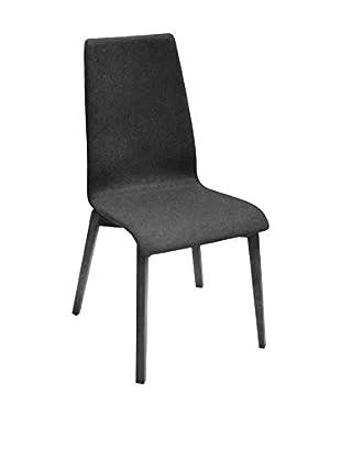 Domitalia Jill Chair, Dark Grey/Black