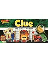 Authentic Reproduction Of The 1949 Edition Clue Classic Board Game Includes Bonus Velvet Bag!