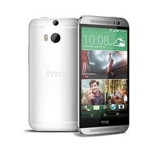 HTC One M8 (Dual SIM, Silver)