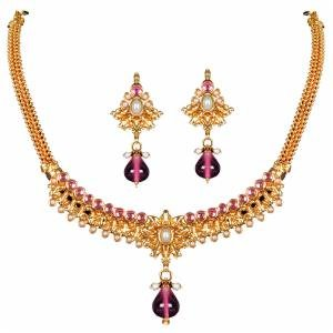 Amazing Light Pink Necklace Set