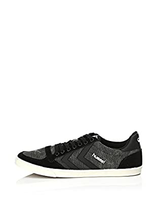 Hummel Sneaker Slim Stadil Washed Low (schwarz)