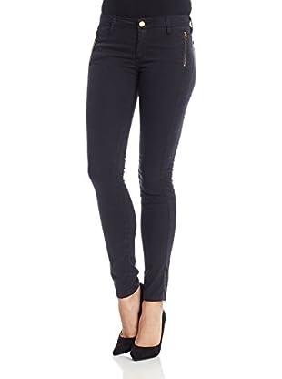 Oran Jeans Pantalón Skinny Zipper