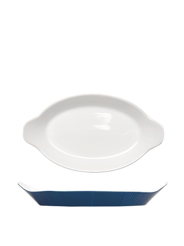 BergHOFF Blue Line  Oval Baking Dish, Blue