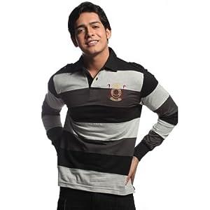 Ooz Full Sleeve Polo Tshirt | Colour Black | Size M