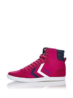 Hummel Sneaker Slimmer Stadil High (himbeere/blau)