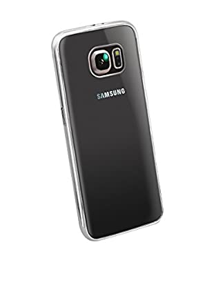 Funda Tpu Luxury Samsung Galaxy S6 Edge Plata
