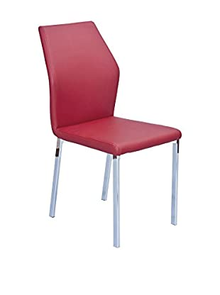 Easy Home Set Silla 4 Uds. Valencia A1 Rojo