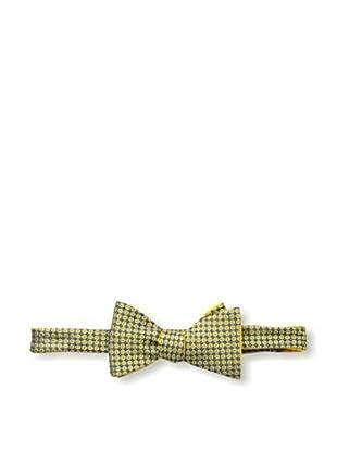 Bruno Piattelli Men's Dotted Bow Tie, Gold