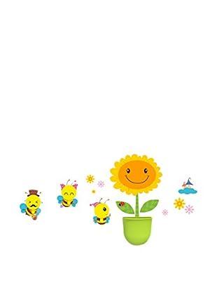 LO+DEMODA Wandtattoo Happy Bees