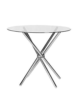Modern Home Tisch silberfarben