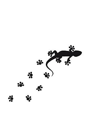 Ambiance Sticker Wandtattoo Lizard And Foot Path